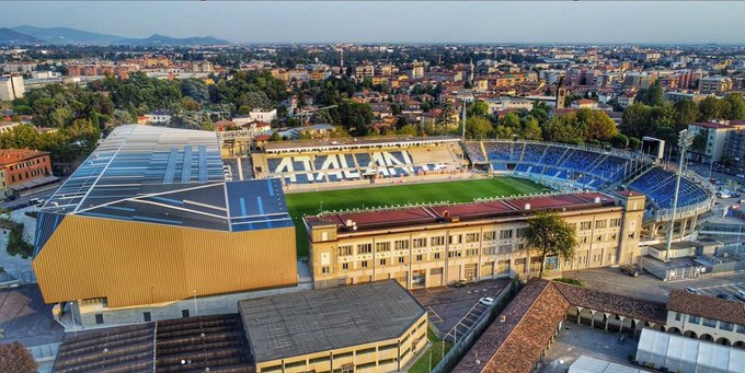 Atalanta: The Gewiss Stadium getting ready for first-ever ...